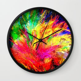 Bursting With Joy Wall Clock