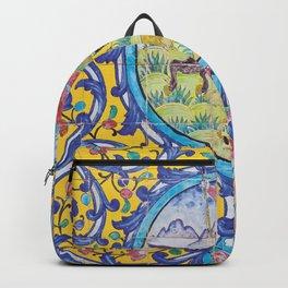 Iranian tiles Backpack