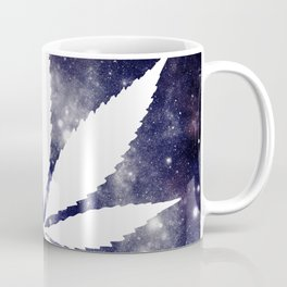 Weed : High Times Navy Blue Galaxy Coffee Mug