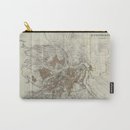 1893 Historic Map of St. Petersburg Carry-All Pouch