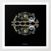 Abstract Architecture2 Art Print