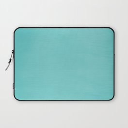 Hand Painted Aqua Blue Laptop Sleeve