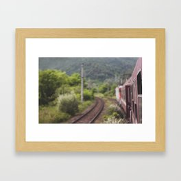 gone Framed Art Print