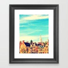 Chelsea, NY Framed Art Print