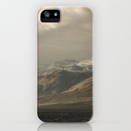 Out the Car Window iPhone Case