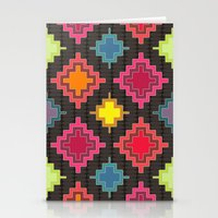 kilim Stationery Cards featuring kilim bold by Sharon Turner
