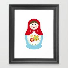 Matryoshka Doll 1 Framed Art Print