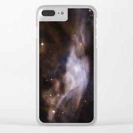Nebula Sh2-308, EZ Canis Majoris Clear iPhone Case