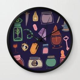 Potions Flash Sheet Wall Clock