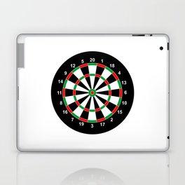darts game board classic target  Laptop & iPad Skin