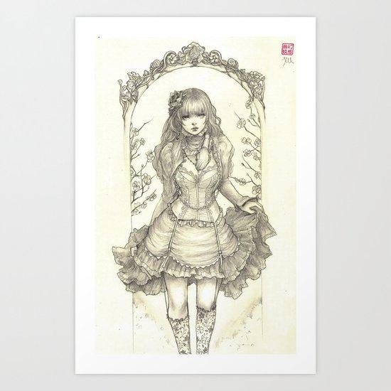 Pastelle Art Print