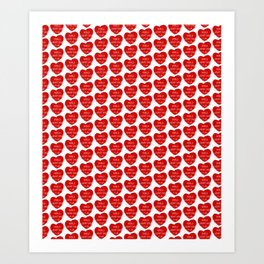 World heart day Art Print