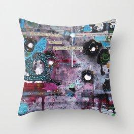 About Birdsong Throw Pillow
