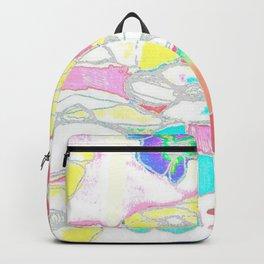 White Spring Backpack