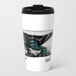 Dinosaur - Raptor Metal Travel Mug
