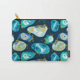 Cephalopods through time Carry-All Pouch