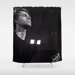 L HEMMINGS CLEVELAND Shower Curtain