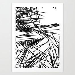 Pick-Up Sticks Art Print