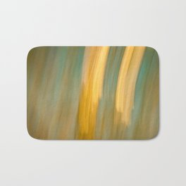 Ancient Gold and Turquoise Texture Bath Mat