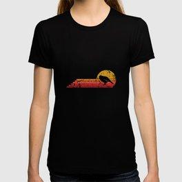 Kakapo Bird Retro Vintage Style T-shirt