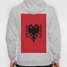 Albanian flag Hoody