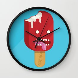 Self Licking Ice Cream Wall Clock