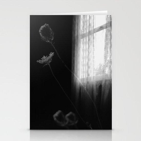 Window Flowers Stationery Cards