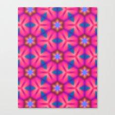 Kaleidoscope Floral Canvas Print