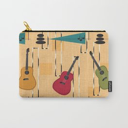Mid Century Modern Guitar Carry-All Pouch