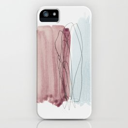 minimalism 4 iPhone Case