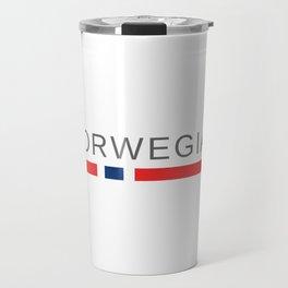 Norwegian Norway Travel Mug