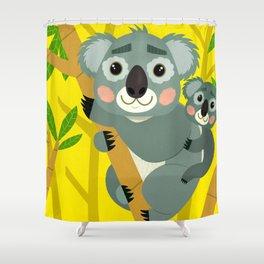 Koala Bears Shower Curtain