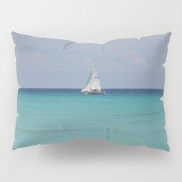 White sails Pillow Sham