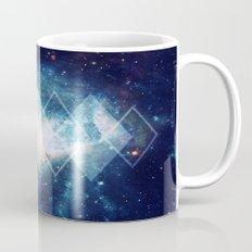 Shining Nebula - Blue Mug