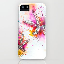 Anatomy of a Dragonfly iPhone Case