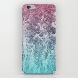 pastel ocean iPhone Skin