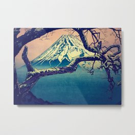 Pausing at Dojiro Metal Print
