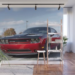 Scat Pack Challenger RT Two Tone Prototype Wall Mural