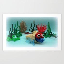 Marg Cone Fish Art Print