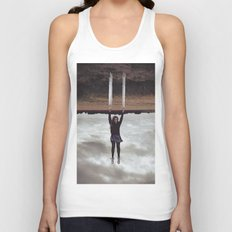 Holding On Unisex Tank Top