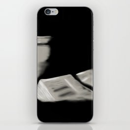 24- Bible and cup iPhone Skin