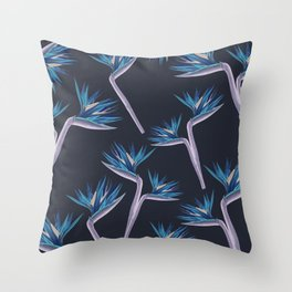 Birds Of Paradise #society6 #buyart Throw Pillow