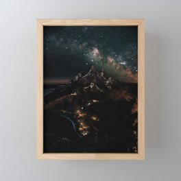 Velaris, City of Starlight, Night Court, A Court of Thorns and Roses Framed Mini Art Print
