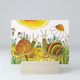 Noah's Ark - Snail Mini Art Print