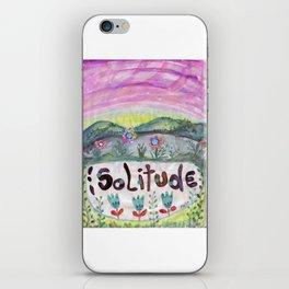 Alone Time iPhone Skin