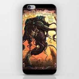 GREAT ANCIENT YOG-SOTHOTH iPhone Skin