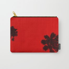 Red Palm Carry-All Pouch