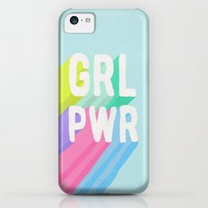 GRL PWR x Blue iPhone 5c Slim Case