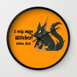 Loyal Familiar (Salem, MA) Wall Clock