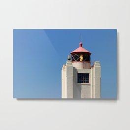 Port Hueneme Light Tower Metal Print